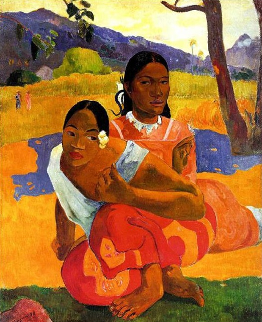 Obra del francés Paul Gauguin