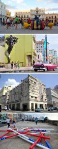 Instalaciones creadas por los artistas durante la Bienal de La Habana