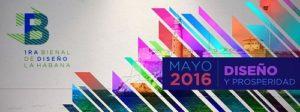 Cartel de la Primera edición de la Bienal de Diseño de La Habana