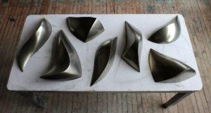 """Conjunto de esculturas de la colección """"Tools"""", de Bill Thompson"""