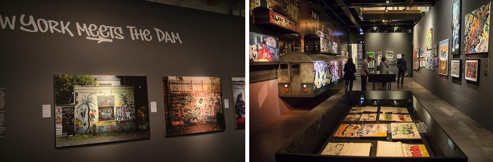 Fotos de la exhibición New York meets the dam