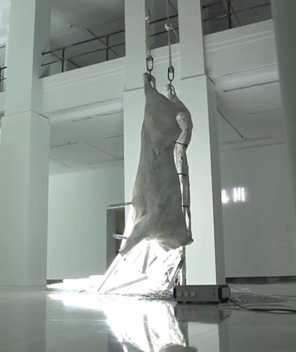 obra de la exposición de Bernardí Roig