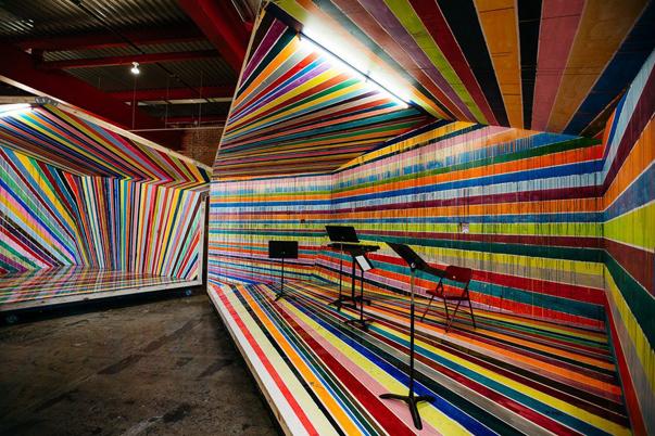 Instalación Wasserman de Markus Linnenbrink