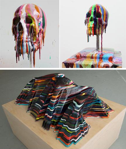 Esculturas creadas por Markus Linnenbrink