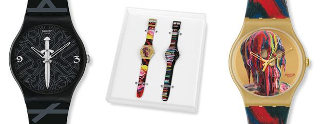colección relojes Swatch de Markus Linnenbrink