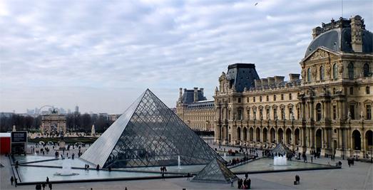 Fotografía del Museo Louvre