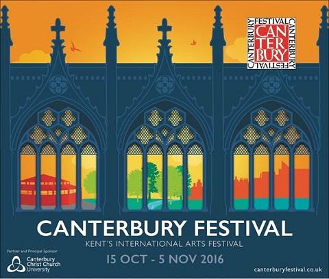 logo e imagen del festival de canterbury