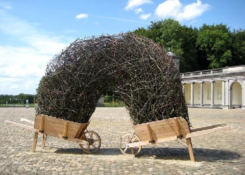 instalación creada por Bob Verschueren