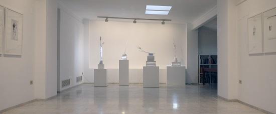 exposición de Bernardí Roig en la galería Ana Serratosa en octubre