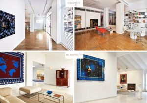Fotografías de las galerías Fondo Arte-AS y Galería Ana Serratosa