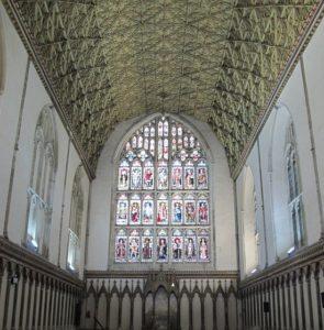 Sala Capitular de la Catedral de Canterbury
