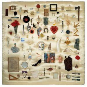 """Obra """"Autorretrato"""" (1994) de Carmen Calvo"""