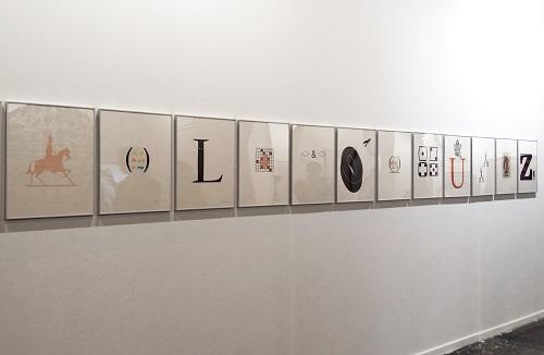 Litografías creadas en 1989 por el fallecido artista catalán Joan Brossa.