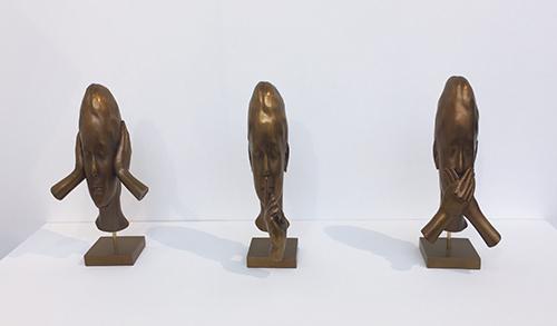 Serie de pequeñas esculturas en Bronce (Jaume Plensa)