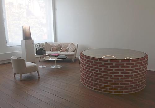 Interior de una de las estancias de la Maison Particulière