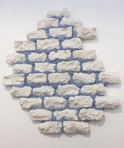"""Fragmento de la obra """"Ruins of a Sky Blue Wall"""" (2017), de Michel François"""
