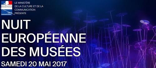 Diseño creado para el cartel de la Noche Europea de los Museos