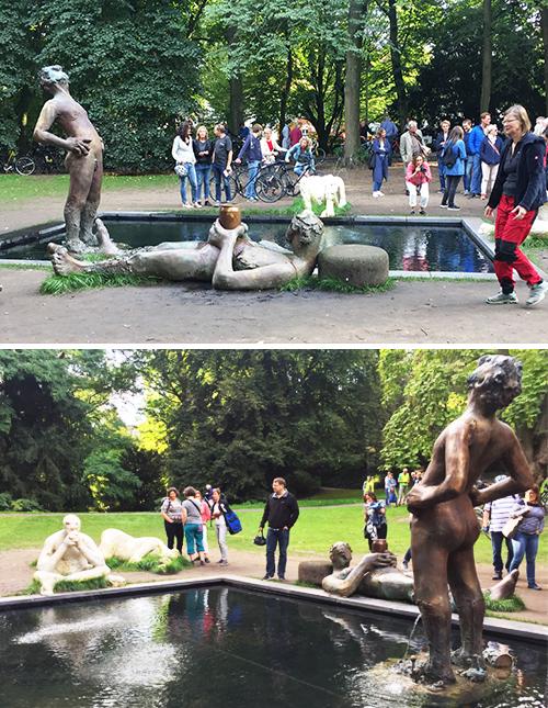 """""""Sketch for a Fountain"""". Instalación temporal de Nicole Eisenman para Skulptur Projekte Münster 2017"""