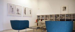 """Imagen de las obras de Bernardí Roig durante su exposición """"Flowers & Faces"""""""